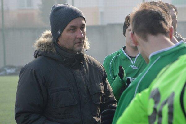 Roman Jakubička ešte ako tréner Jacoviec.