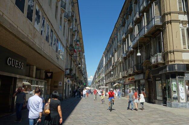 Ako práve vyzerajú ulice Turína
