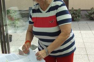 Helena Kukučková podpísala petíciu proti výrubu líp.