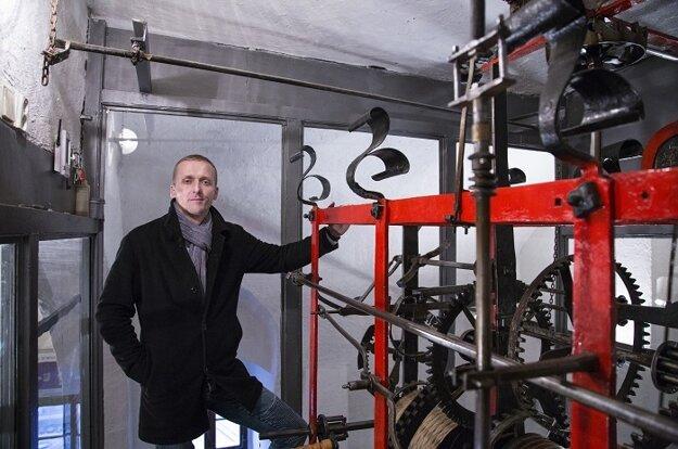 Prehliadka s hodinárom Nemčekom v Mestskej veži