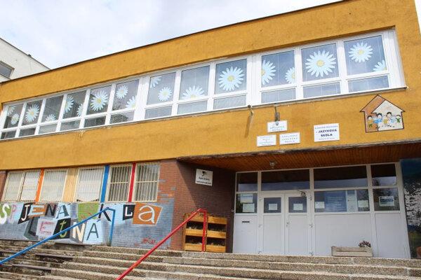 Spojená škola na Letnej ulici v Poprade.
