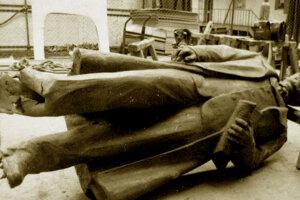 Za odpálenie sochy Gottwalda v roku 1978 bol trest deväť rokov.