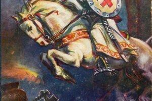 Fašistický Svätopluk inšpiroval normalizačného sochára pre propagandu Smeru.