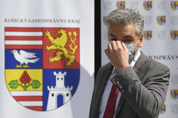 Župan Rastislav Trnka.