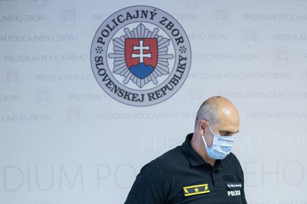 Prezident policajného zboru Milan Lučanský.