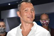 Ladislav Nagy na predpremiére dokumentu Hokejový sen.