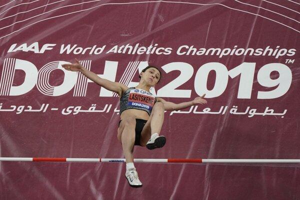Najlepšia výškarka súčasnosti Marija Lasickienéová.
