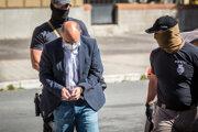 Peter Kuba prichádza na Špecializovaný trestný súd.