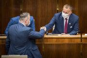 Boris Kollár zostáva predsedom parlamentu.