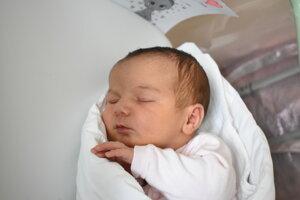 Valentina Kubová (3380 g, 49 cm) sa narodila 27. júna Marike a Jánovi z Nového Mesta nad Váhom.