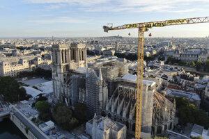 Katedrála Notre Dame v Paríži.