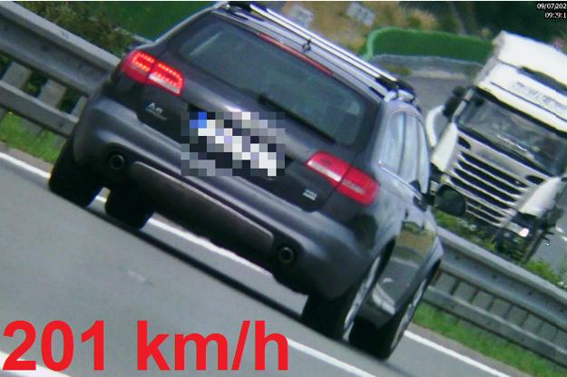 Tohto vodiča vyšlo prekročenie rýchlosti na 700 eur.