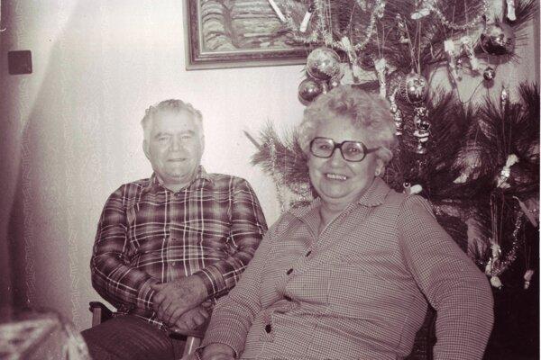 Jozef Klimko s manželkou Máriou