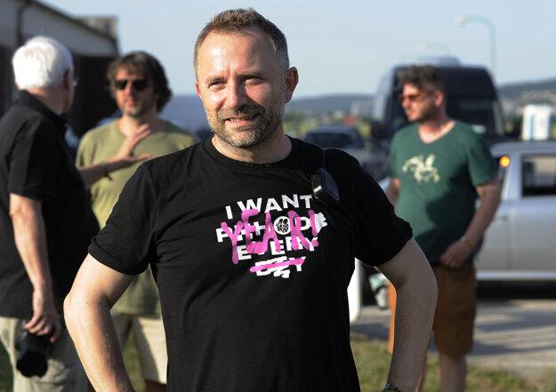 Organizátor festivalu Michal Kaščák.