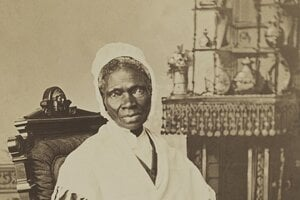 Sojourner Truth okolo roku 1870