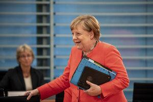 Nemecká kancelára Angela Merkelová.
