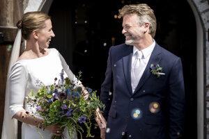 Mette Frederiksenová sa zosobášila s Bo Ternbergom.