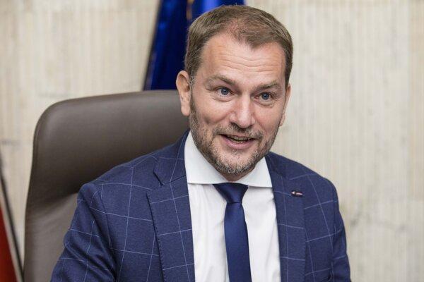 Premiér Matovič.