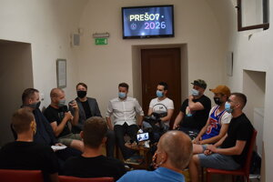 Verejná prezentácia k EHMK v Caraffovej väznici v Prešove.