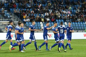Futbalisti FC Nitra.