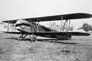 Model letúňa Letov Š-16, ktorý sa zrútil pri Dolnom Srní
