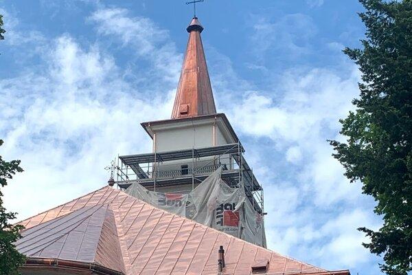 Po obnove exteriéru kostola chcú pokračovať aj v jeho interiéri.