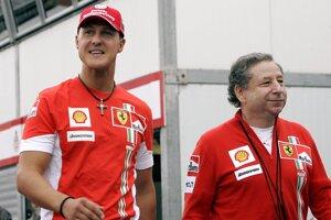 Michael Schumacher a Jean Todt spolu pôsobili v tíme Ferrari jedenásť rokov.
