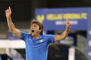 Tréner Interu Miláno Antonio Conte.