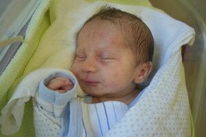 Martin Oliver Šteiner (3020 g, 49 cm) sa narodil 20. júla Lucii a Ivanovi z Nového Mesta nad Váhom.