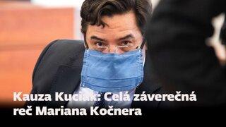 Vypočujte si celú záverečnú reč Mariana Kočnera (audio)