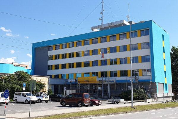 Budova rožňavského mestského úradu.
