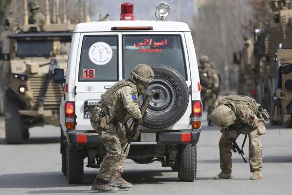 Britskí vojaci v Afganistane.