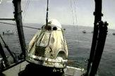 Crew Dragon pristála vo vodách Atlantiku, pozrite si galériu