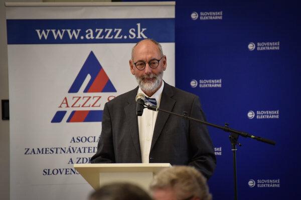 Tomáš Malatinský, prezident asociácie zamestnávateľov.