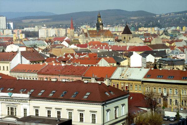Pohľad na Košice.