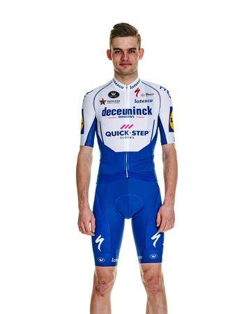 Kasper Asgreen, cyklista, tím Deceuninck - Quick Step