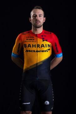 Sonny Colbrelli, cyklista, tím Bahrain - McLaren