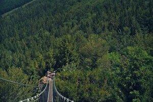 Pribudol aj ďalší lanový most.