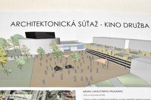 Podľa iného návrhu by tu mohlo byť tanečné centrum.
