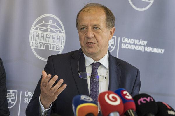 Prezident Únie miest Slovenska Richard Rybníček.