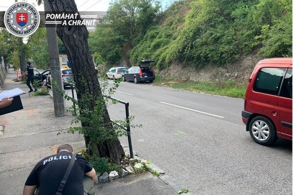 Policajti spacifikovali muža, ktorý na Podkolibskej ulici v Bratislave hádzal kamene po okoloidúcich ľuďoch a vozidlách. Privolaná hliadka muža opakovane upozorňovala, aby prestal, no ten na ich výzvy nereagoval. Policajti tak použili hmaty a chvaty, agresívnemu mužovi nasadili putá a eskortovali ho na policajné oddelenie. Pri vyčíňaní poškodil tri autá.