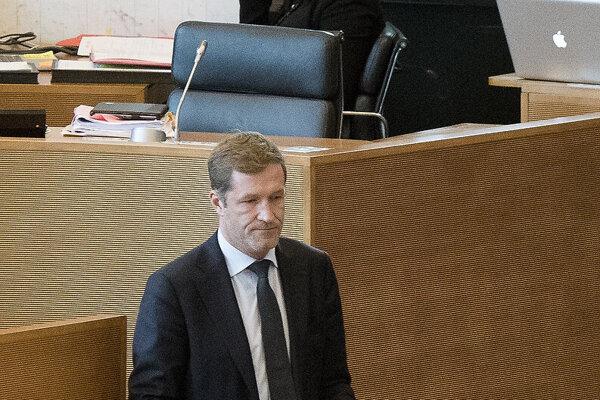 Paul Magnette, líder frankofónnej Socialistickej strany.