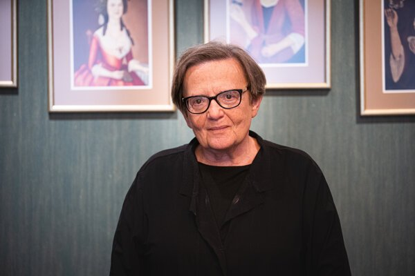 Režisérka Agnieszka Holland.