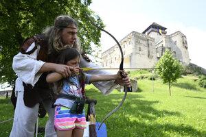 Na Trenčianskom hrade.