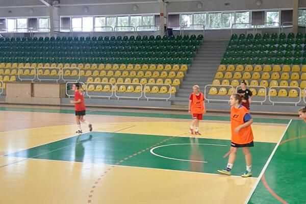 Futsalistky Levíc sa zišli na svojom prvom tréningu.