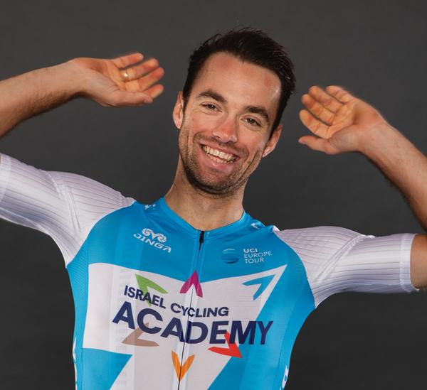 Tom Van Asbroeck, cyklista, tím Israel Start-Up Nation