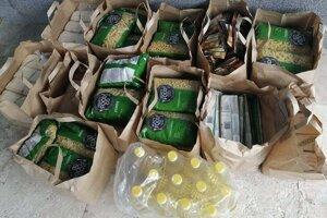 Zbierali sa potraviny či šatstvo.