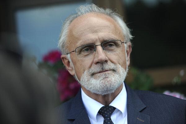 Minister poľnohospodárstva a rozvoja vidieka Ján Mičovsk.