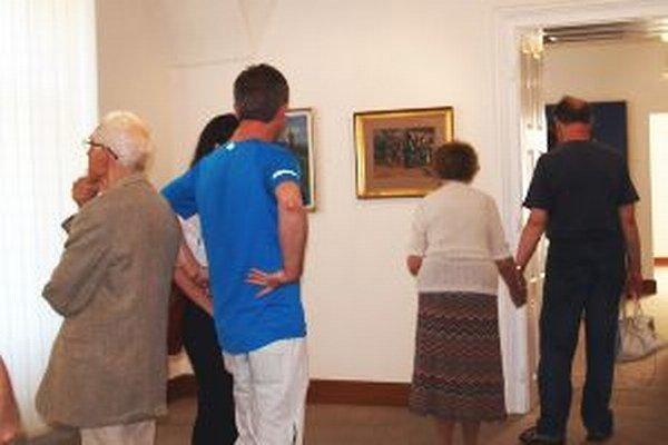 Výstava diel Karola Pongrácza v galérii potrvá do konca augusta.