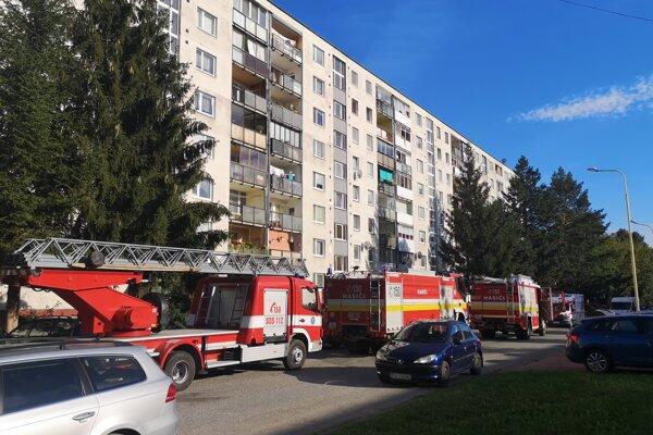 Ohlásený požiar zmobilizoval všetky záchranné zložky.